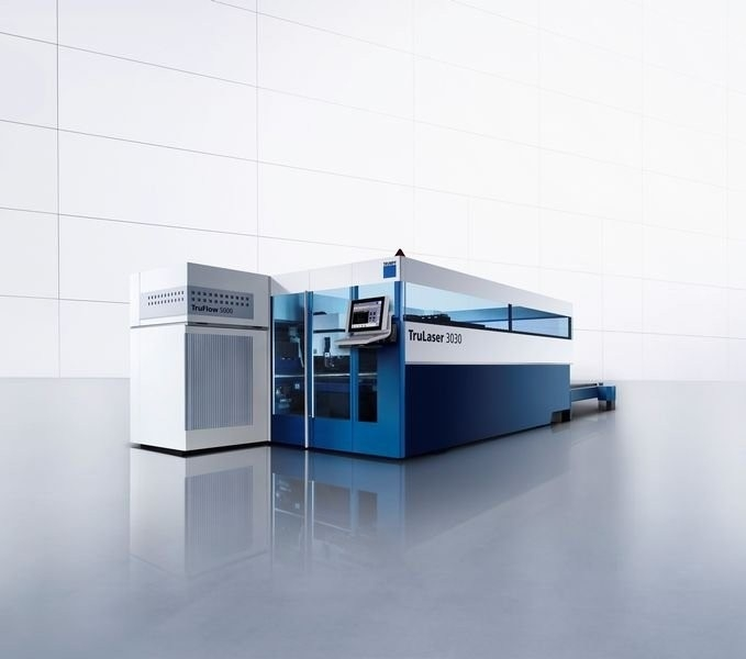 Putting into operation TRUMPF laser machine